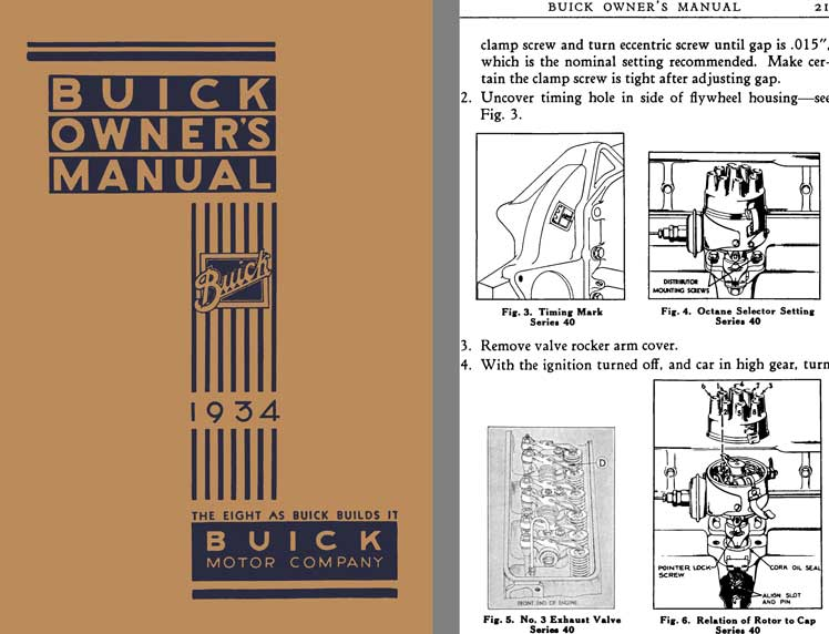 regress press buick 1934 buick owner s manual 1934 the eight as rh regresspress com buick owners manual buick enclave owner's manual