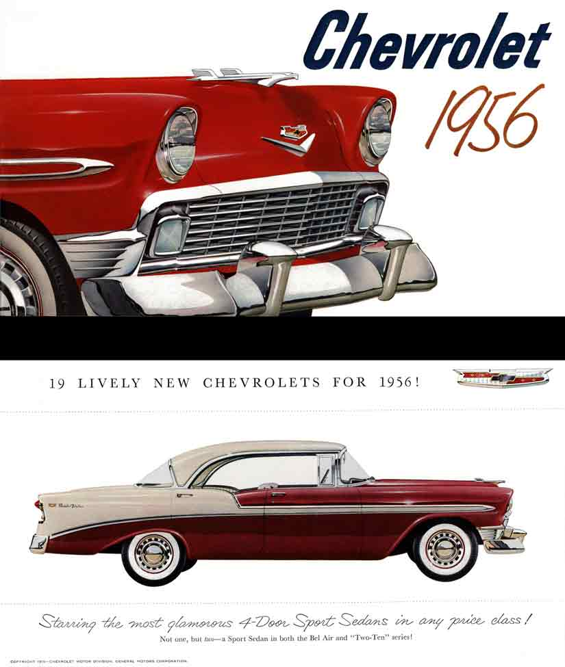 Chevrolet 1956 - 19 Lively New