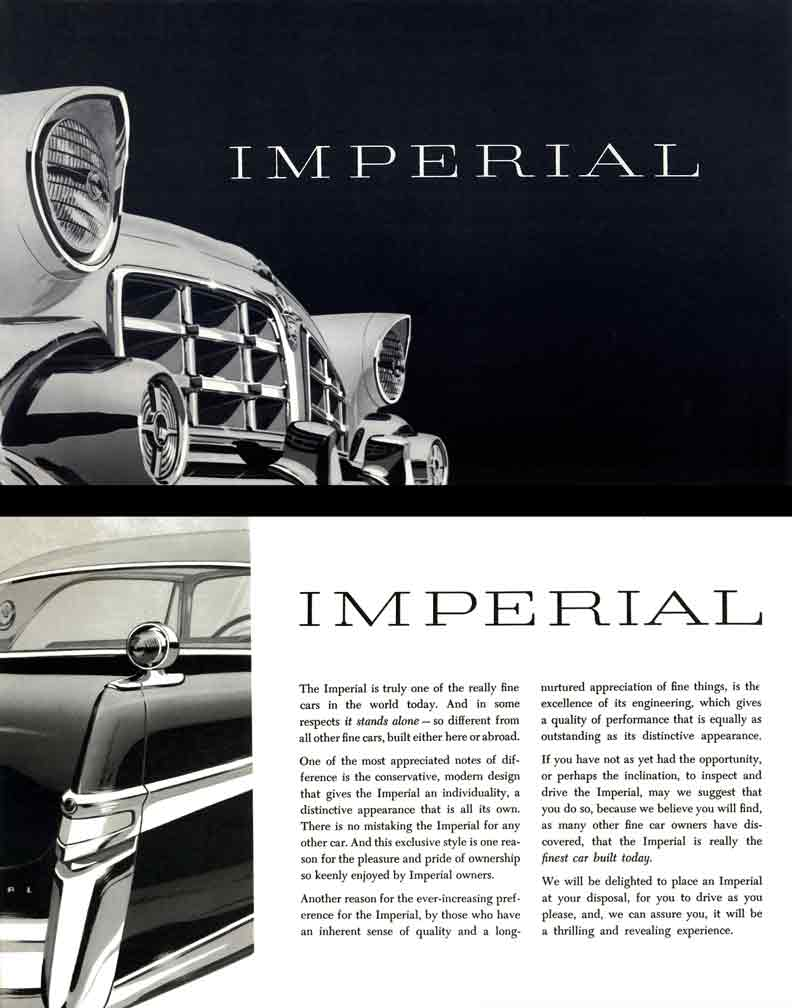 Chrysler Imperial 1956 - the
