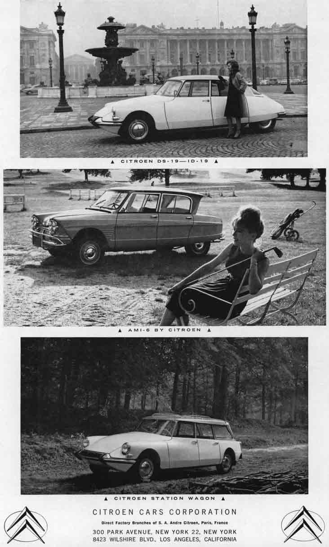 Citroen (c1960) - Citroen DS19