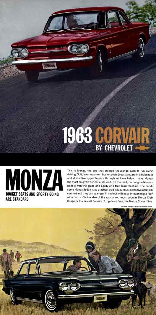 Regress Press -Corvair 1963 by Chevrolet - Corvair Keeps the Zest and ...