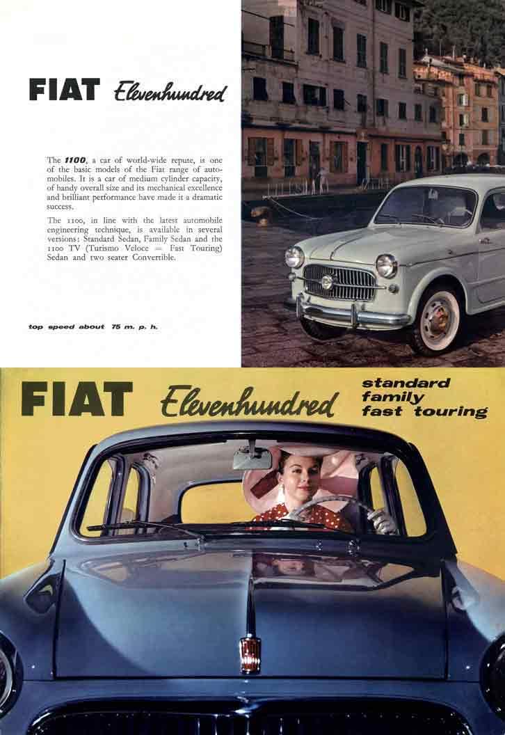 Fiat 1100 (c1955) - 1100