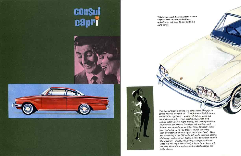 Ford consul capri c1961 english ford ebay for Consul catalog