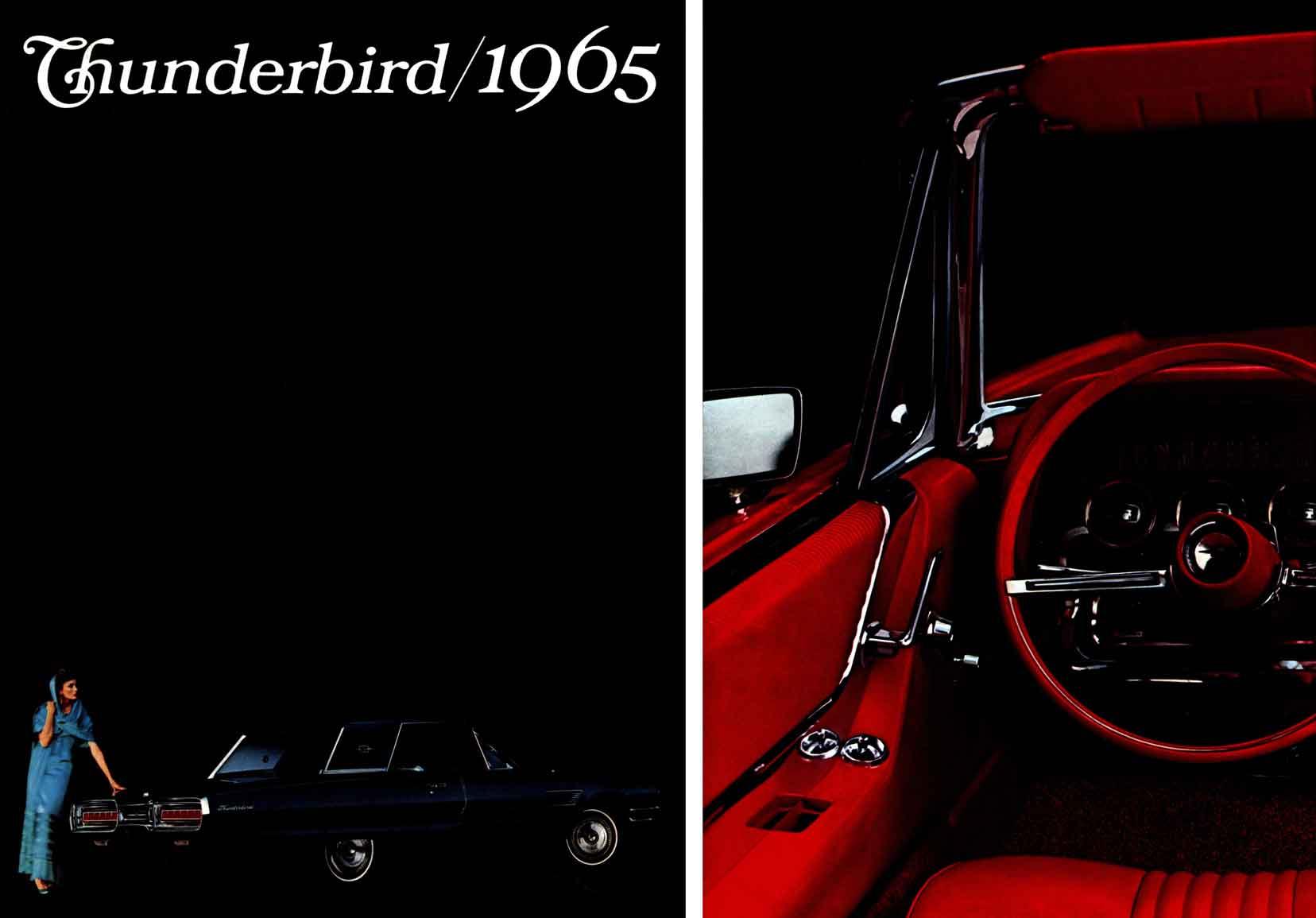 1965 Ford Thunderbird Hardtop.