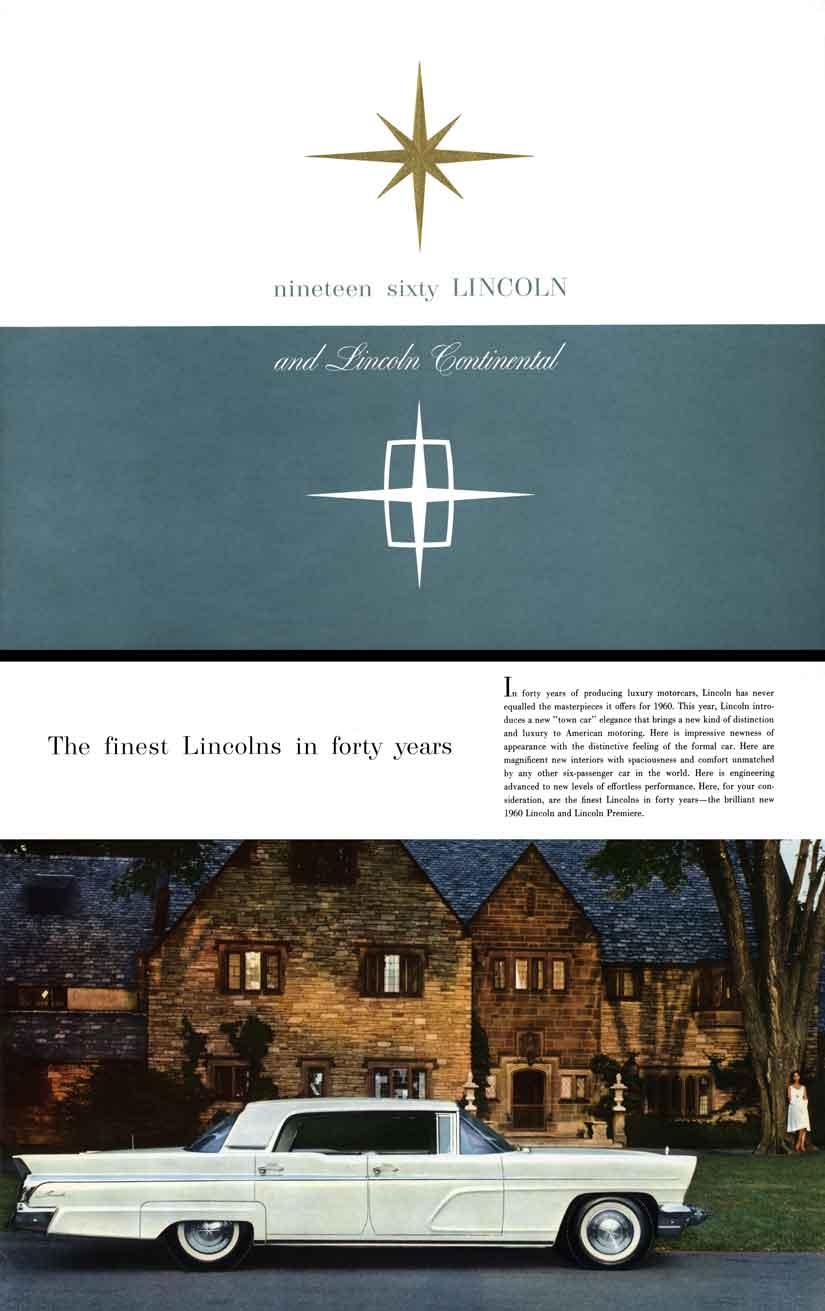Lincoln 1960 - nineteen sixty
