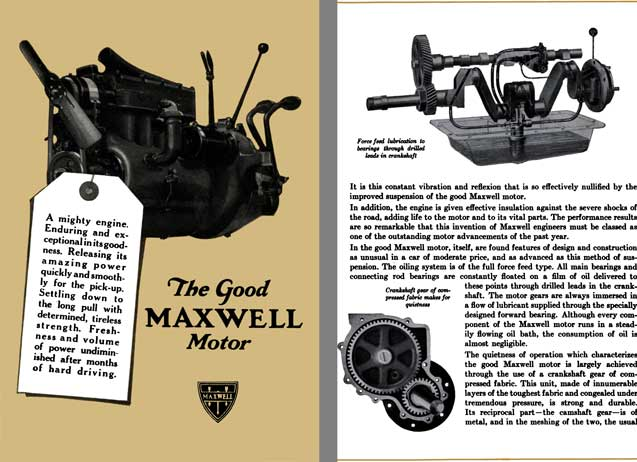 Maxwell 1923 - The Good Maxwell Motor
