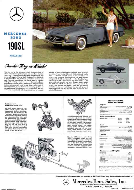 Regress press llc automobile catalogs between1960and1969 for Mercedes benz financial address for insurance