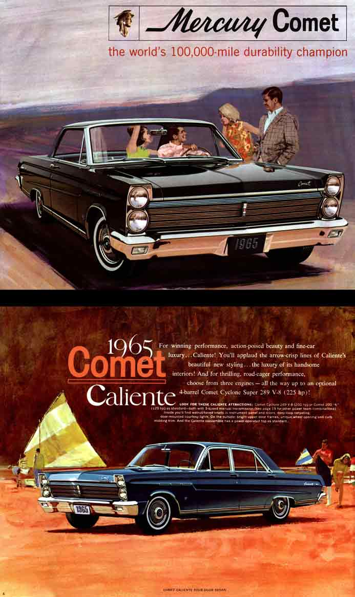 Comet Mercury 1965 - the