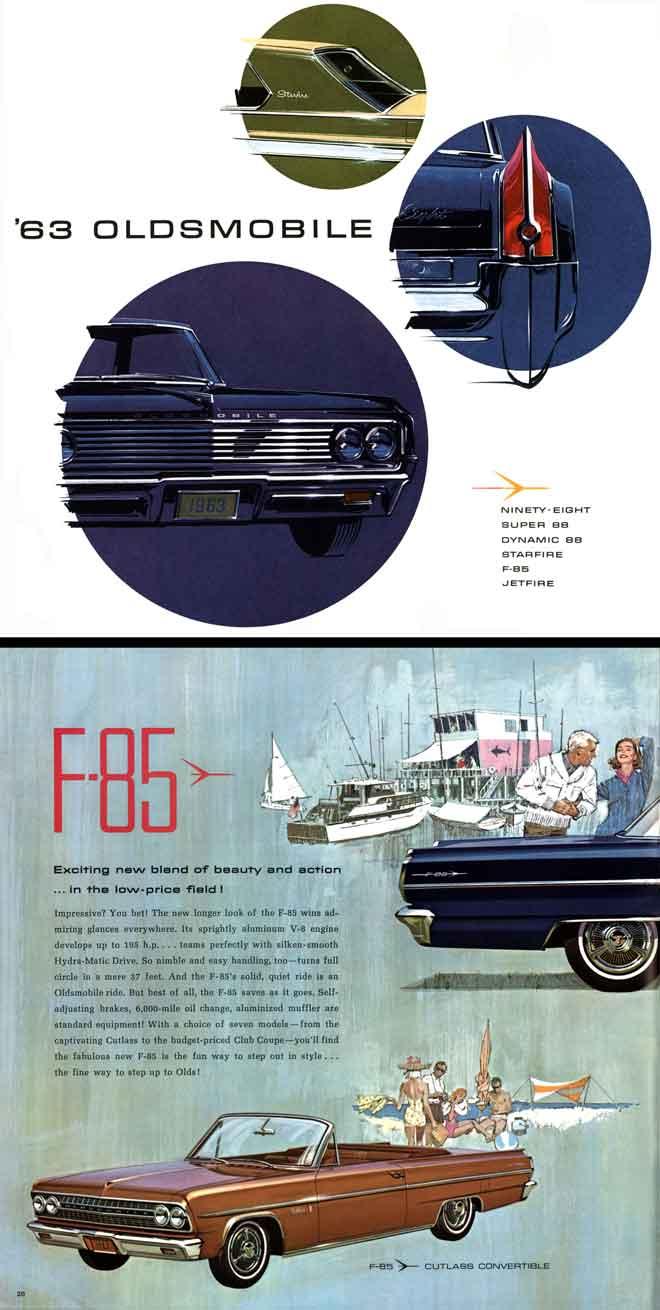 GM - Oldsmobile 1963 - '63