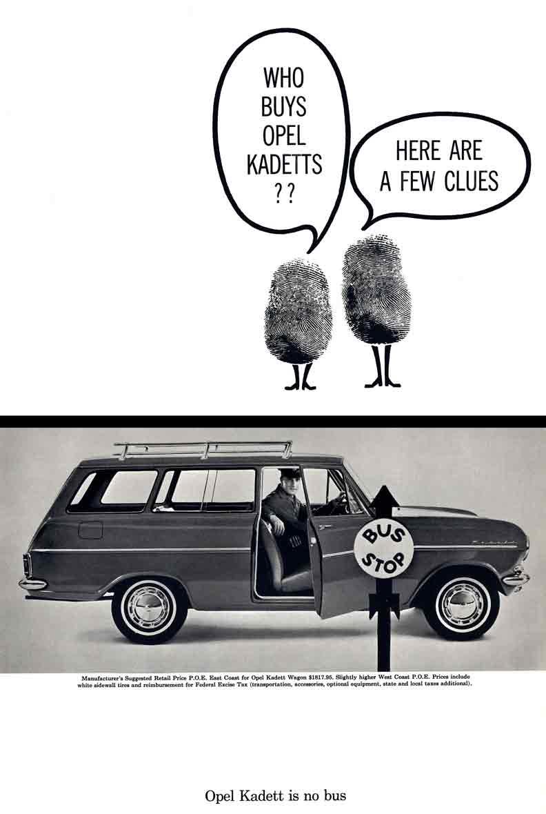 Opel Kadett (c1950) - Who Buys