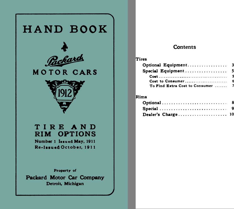 The 1907 Packard Model 30 The Coming Of Age: Automobile Catalogs Featuring US And