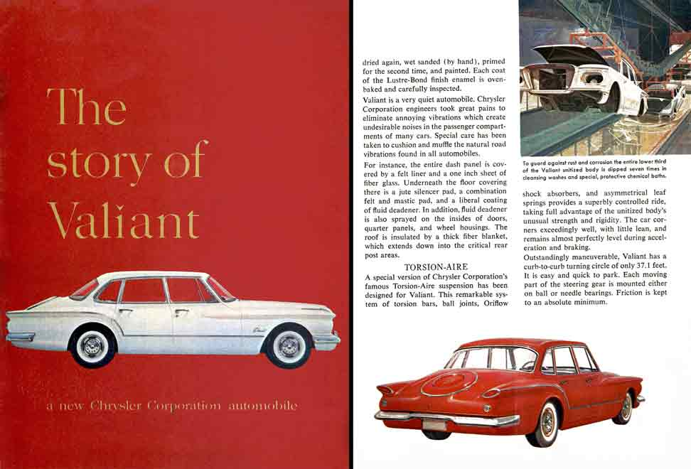 Valiant 1957 Plymouth - The Story of Valiant - a new Chrysler Corporation Automobile