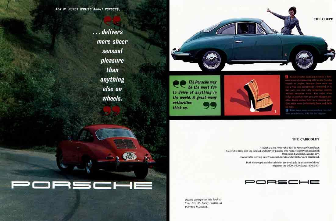 Porsche 356B (c1960) - Ken W.