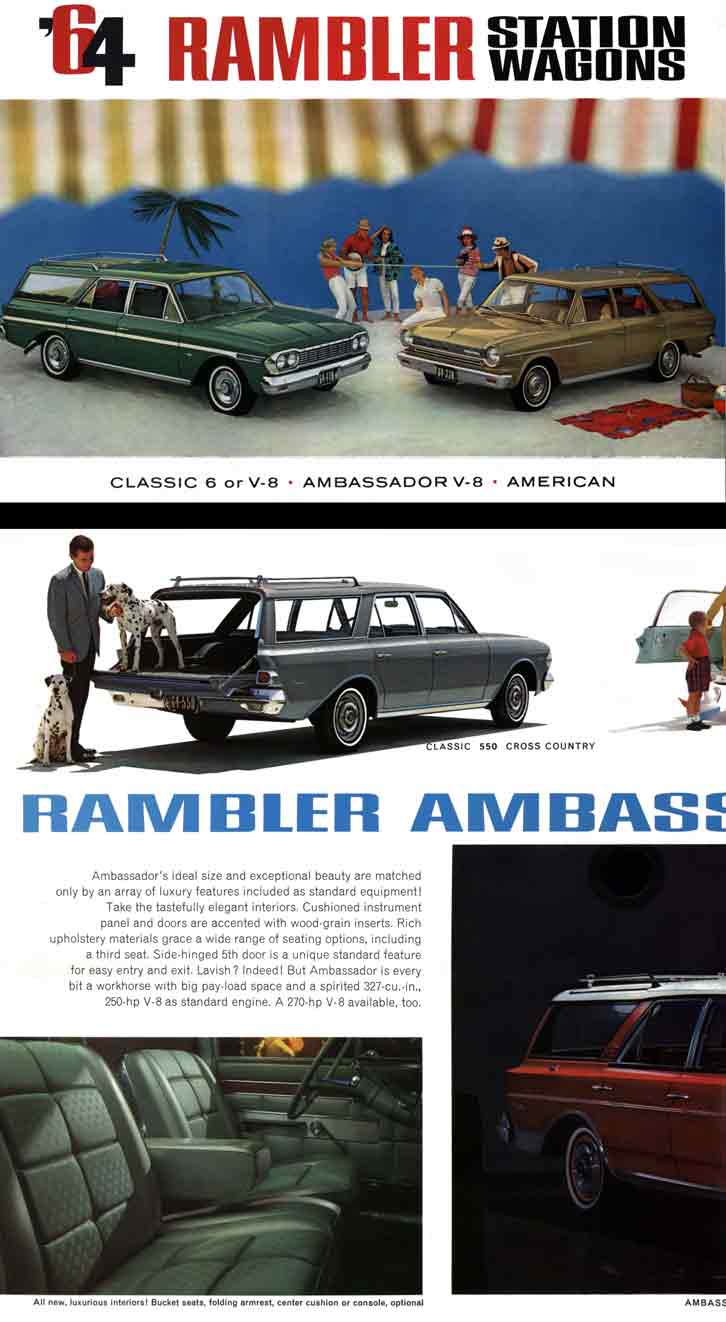 Rambler 1964 Station Wagons