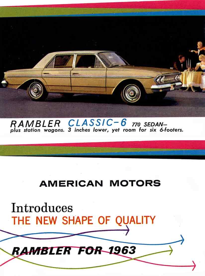 Rambler for 1963 - American