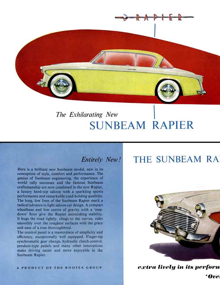 Sunbeam Rapier 1956 - The