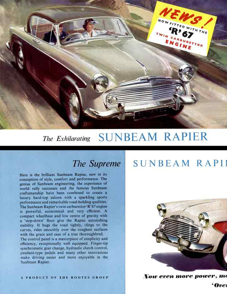 Sunbeam Rapier 1958 - The