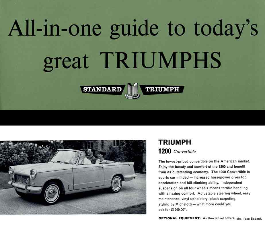 Triumph 1964 ~ All-in-One guide to today's great Triumphs