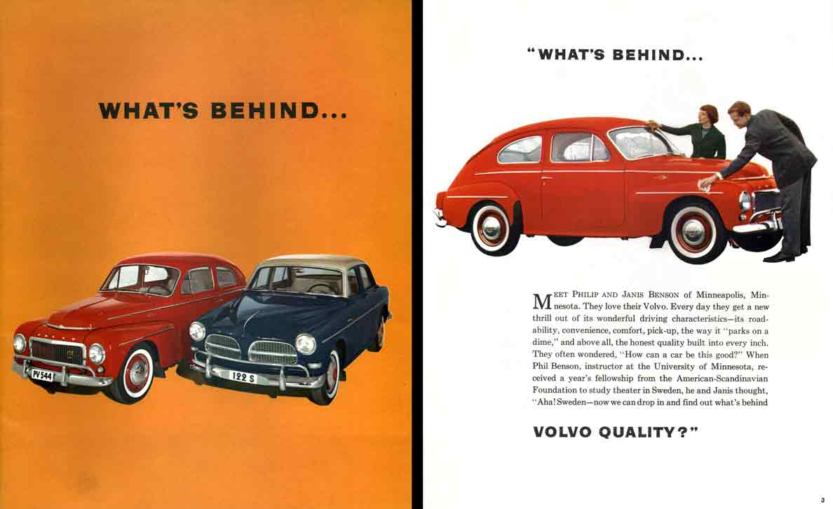 Volvo (c1960) - What's Behind - All this is behind world-famous Swedish quality